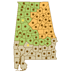 County Distribution Map